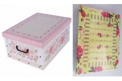 Kutija karton Mini ( ROZA I ZELENA)  33x25x16cm  5020    MS87502