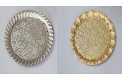 Tacna metalna okrugla sa radom 33,5cm  MA5020