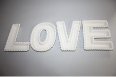 Zdjela za posluživanje keramička  LOVE    CH51162