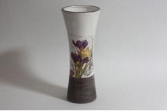Vaza ker.cvjetni dezen  30,5cm  CH9149