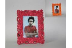 Okvir za sliku 13x18cm, roza i narandžasta  IM23435