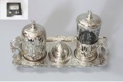 Set za kavu i čaj na metalnoj tacni  MA5027