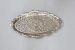 Tacna metalna ovalna 36x20,5cm  MA5035