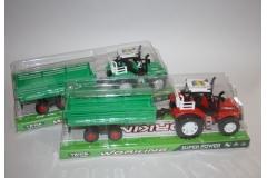 Igračka traktor sa prikolicom   35x12,5x10cm  MK15645